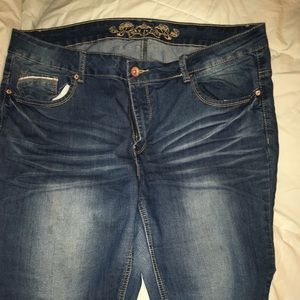 NWOT Stretchy Wax 3X Jeans